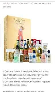 Loccitane Advent Calendar