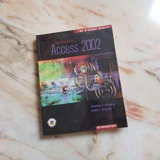 🚚 BN Microsoft Access 2002 with plastic wrap