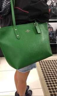 Coach Tote Bag Green