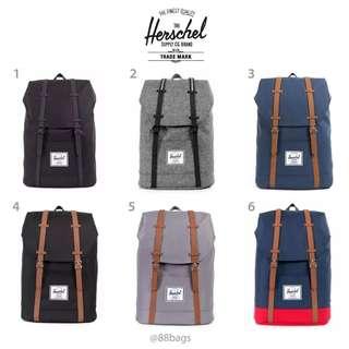 2b8c1b4c39e  CHEAPEST  Herschel retreat backpack