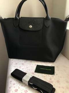 Authentic Longchamp Neo Black Small