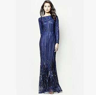RENT ZALIA SEQUIN DRESS