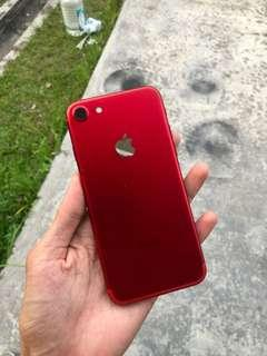 iphone 7 red myset 128gb