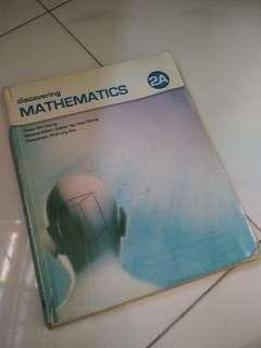 Discovering Mathematics 2A and 2B textbooks
