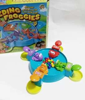 青蛙食珠玩具