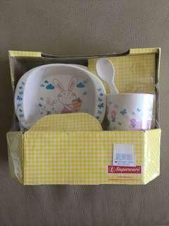Children / Kids / Babies Bunny / Rabbit Cutlery Utensils Set