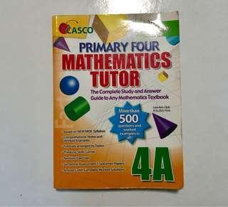 P4 Mathematics Tutor Assessment Book