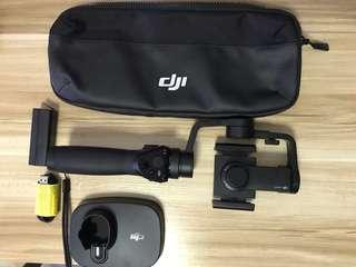 DJI Osmo Mobile (1st Gen) Almost New with OSMO Base