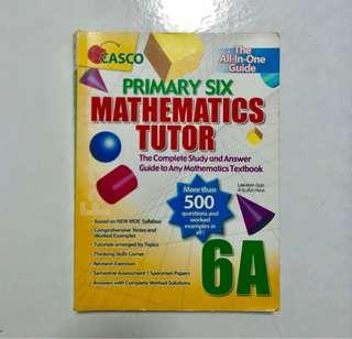 P6 Mathematics Tutor Assessment Book