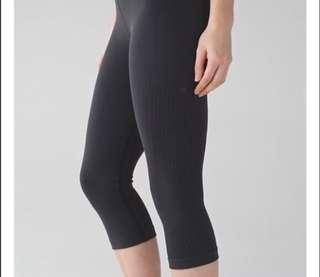 BNWT Lululemon black crop tights