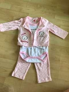 🚚 9m old baby's set