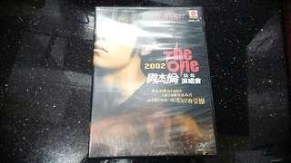 (2002年)-正版-周杰倫台北 The one 演唱會DV D