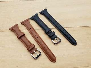🚚 Slim Leather Band Strap Bracelet for Fitbit Versa and Fitbit Blaze