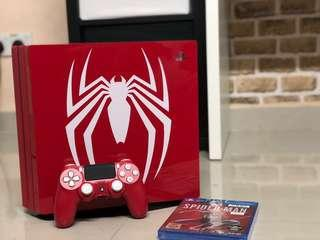 PS4 Pro Spiderman Bundle with Free Gift