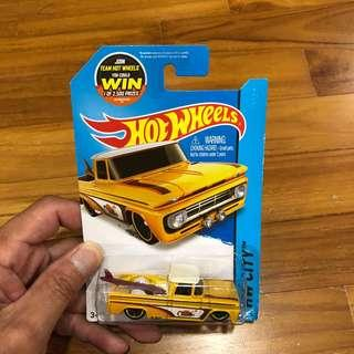 Hotwheels '62 Chevy Pickup