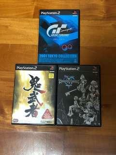 PS2 $80 for 3