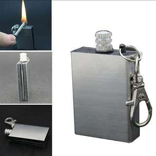 [ High Positive Rating ] Tactical Portable Flint Fire Starter Lighter Kit Emergency Outdoor Fire Flint Camping 30/41