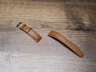 Genuine Hirsch Shark Skin Leather Strap