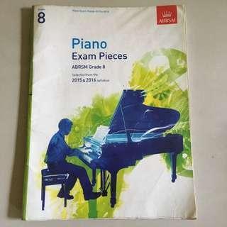 ABRSM Grade 8 2015/2016 Piano Exam Pieces