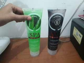 SPA exfoliating gel 2 botol 40rb @300ml