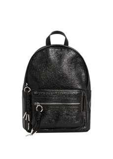 🚚 Mango metallic vinyl backpack