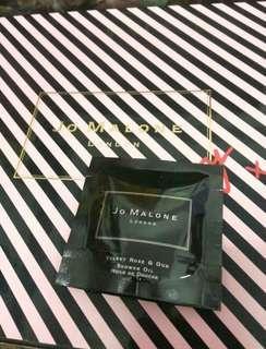 🚚 全新Jo malone 絲絨玫瑰與沈香 淋浴油7ml/公司貨/另有其他香水 潤膚霜 潔膚露 可參考