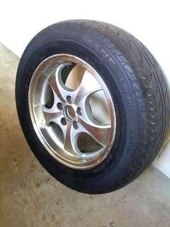 Rims With Tyre