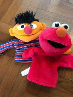 Elmo Plush Toy Puppet