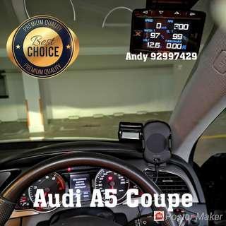 Audi A5 Coupe Lufi X1 Revolution OBD OBD2 Meter Gauge