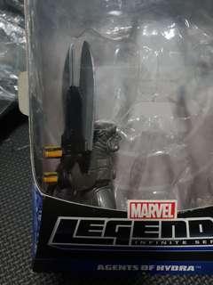 Marvel Legends Mandroid left arm BAF