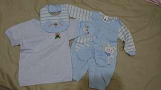 新生兒禮盒+愛的世界棉被