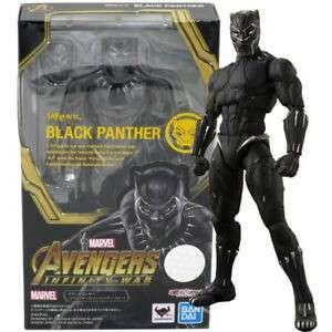 Bandai Tamashii Exclusive S. H Figuarts Avengers Infinity wars Black Panther
