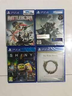 Brand New PlayStation 4 (PS4) Games