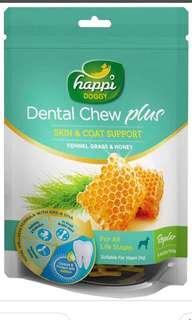 Happi Doggy Dental Chew (Petite Size)