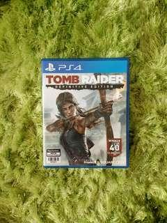 [Used] PS4 Games - Tomb Raider Definitive Edition