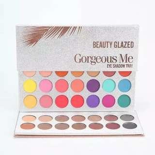 BEAUTY GLAZED 63 COLORS ORIGINAL Gorgeous ORI Me Eyeshadow palette