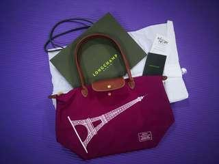 Original Longchamp Paris Tote Bag