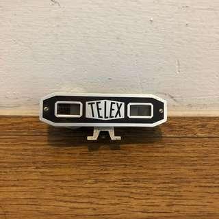 Vintage Telex camera rangefinder with case