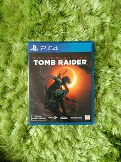 [Used] PS4 Games - Shadow of Tomb Raider