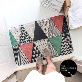 ⚡️[Instock] Nubba Nordic Geometric Floor/Door Mat