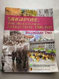 Sec 2 history :The Making Of A Nation-State,1300-1975 Sec 2 history textbook
