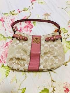 Coach Signature Colette Top Handle Bag