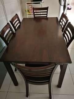 6 seater Torono Dining Set