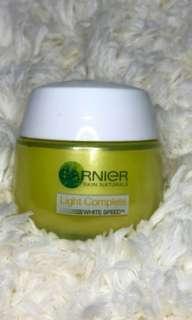 Garnier light speed moisturizer