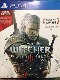 Ps4 game - The Witcher 3