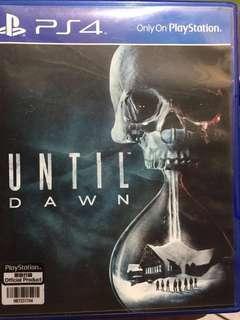 Ps4 game - Until Dawn