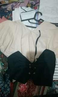 Blouse  corset
