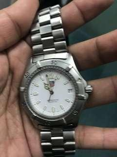Tag watch authentic used but good condition