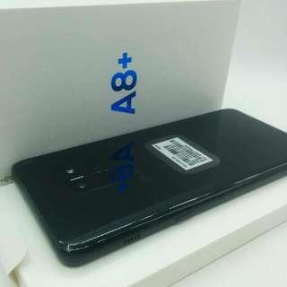 A8+ Black Samsung Local Warranty Full Set  MHNOV