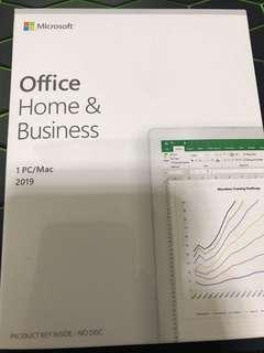 Brand new Microsoft Home and Business 2019